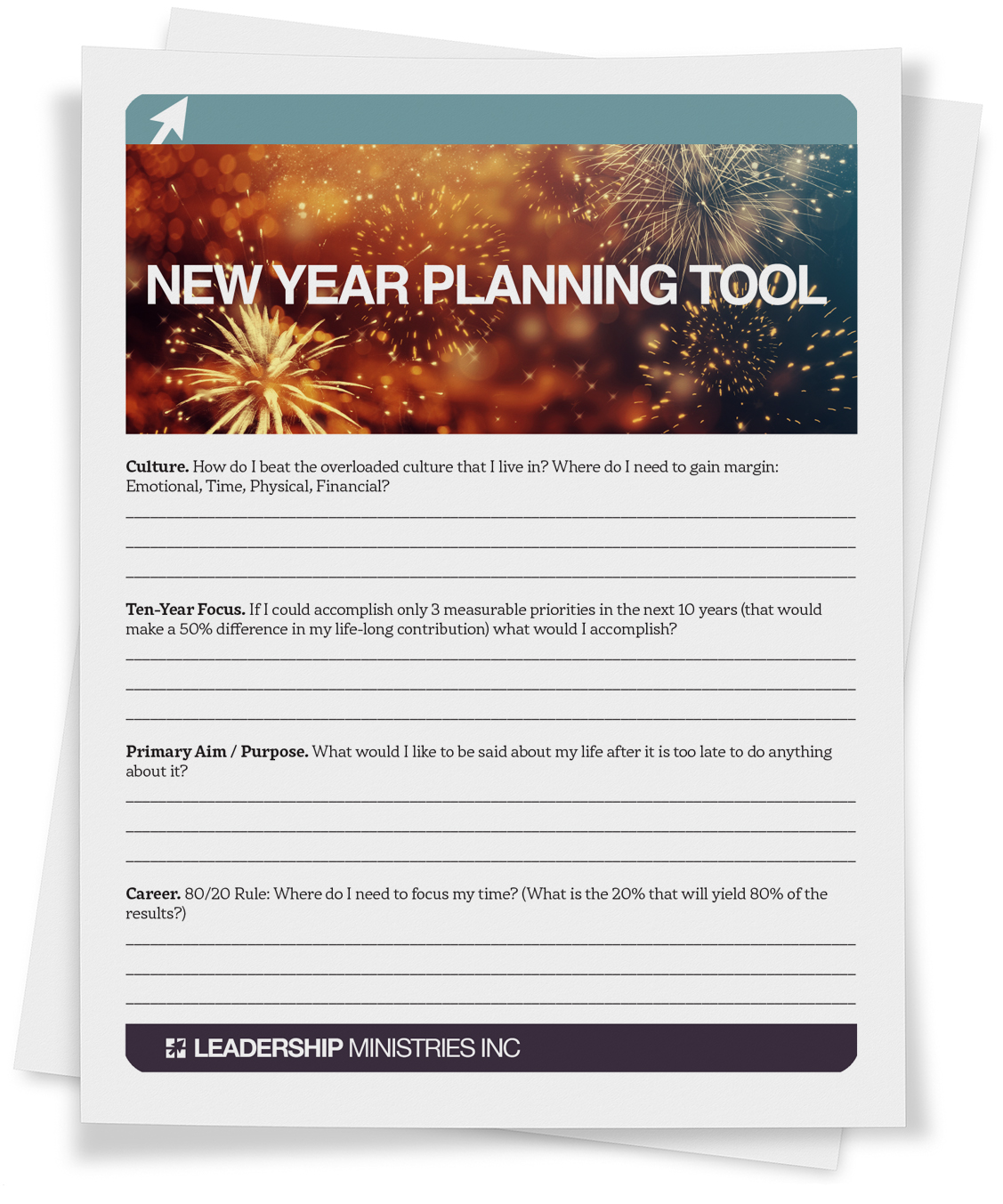 New Year Planning Tool