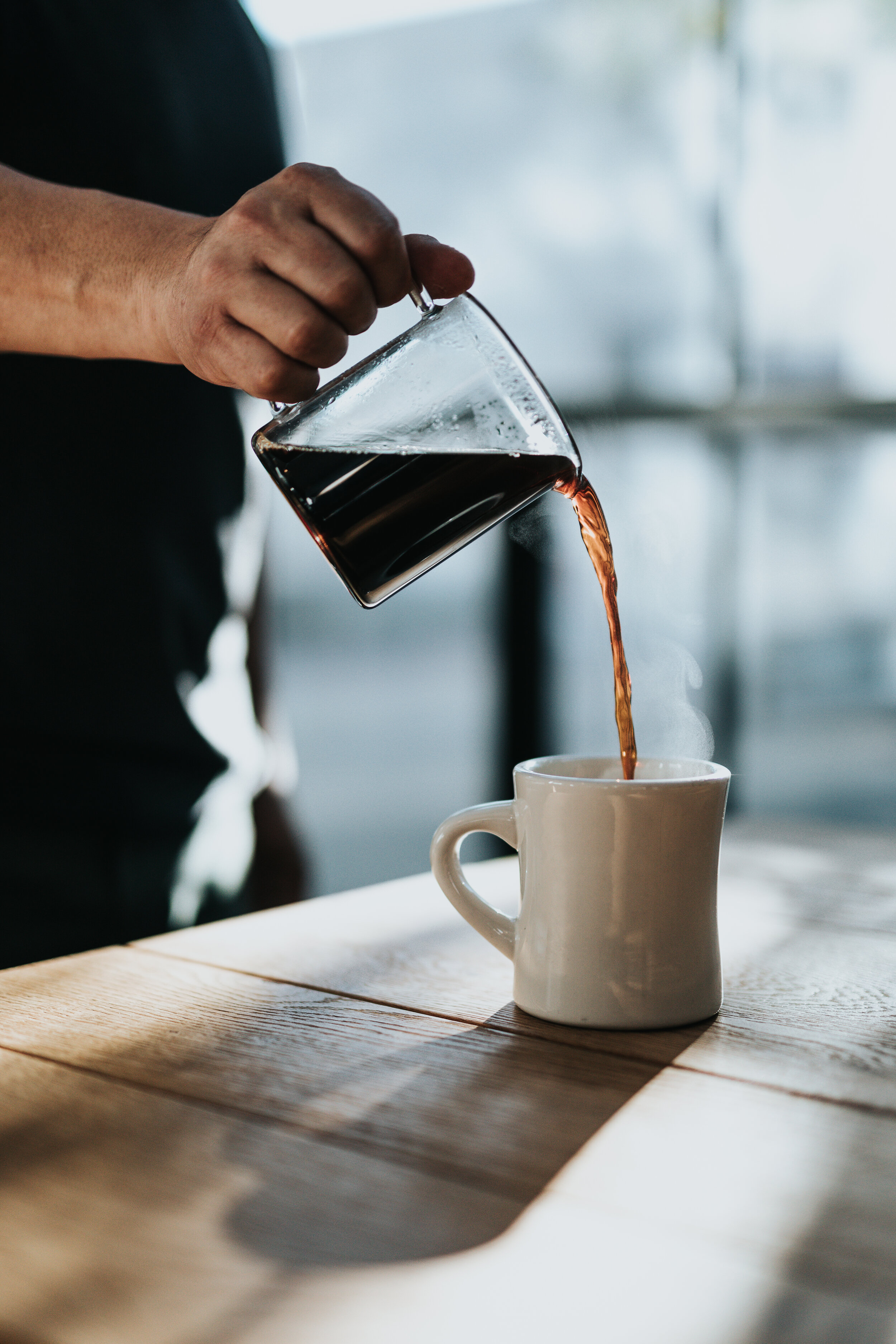 There are two main components in coffee — caffeine and antioxidants — which help to nourish your brain when taken in small/moderate quantities.