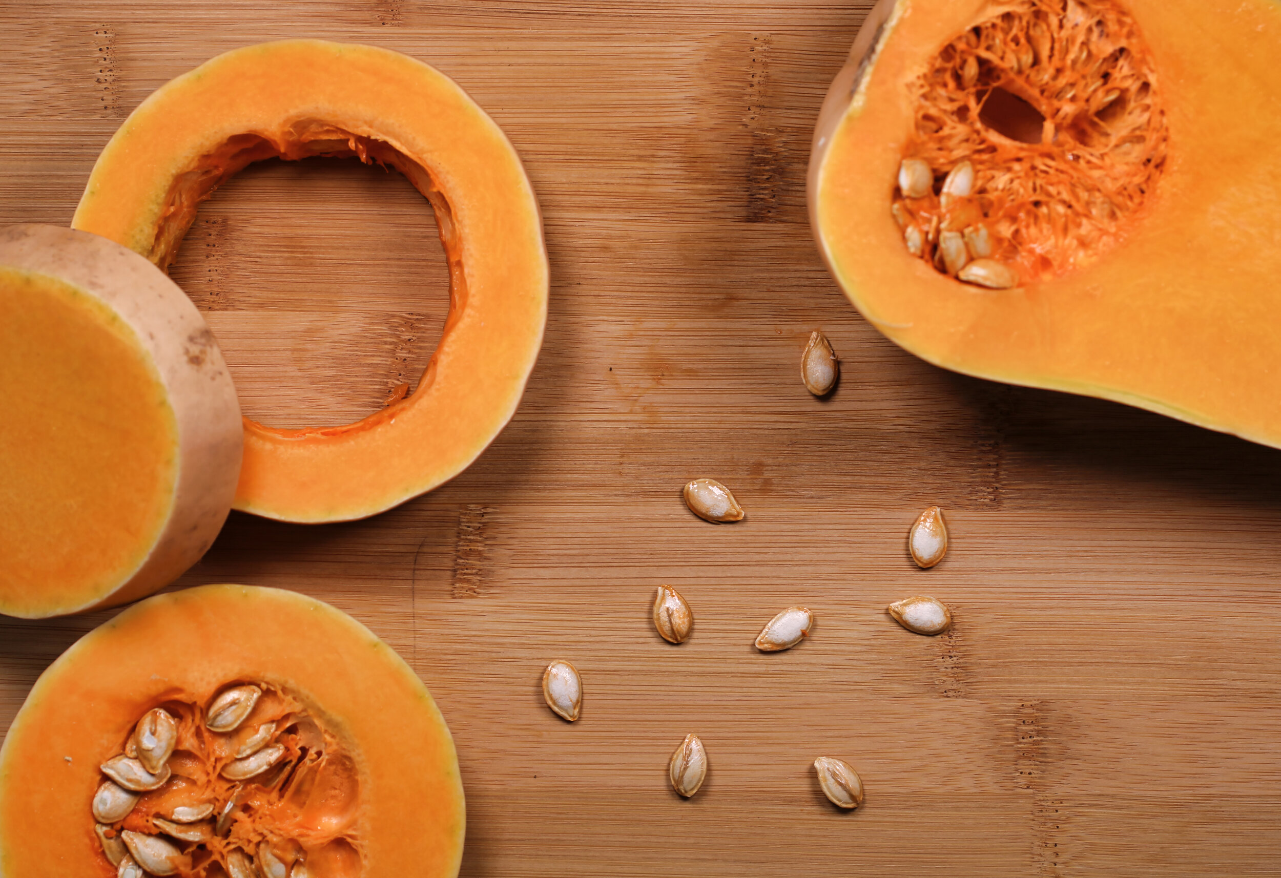 Pumpkin seeds contain powerful antioxidants that protect the body and brain from free radical damage. They're also an excellent source of magnesium, iron, zinc and copper.