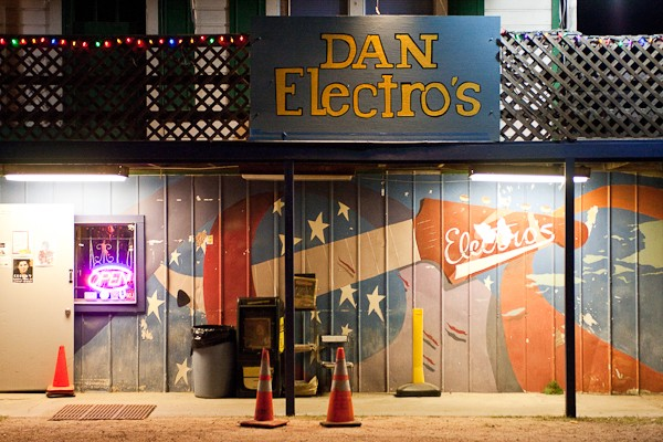 Say Hello to... - Our local friends at Dan Electro's Guitar Bar! They have been rockin' it up since 1988 and are a staple of Houston's live music scene.