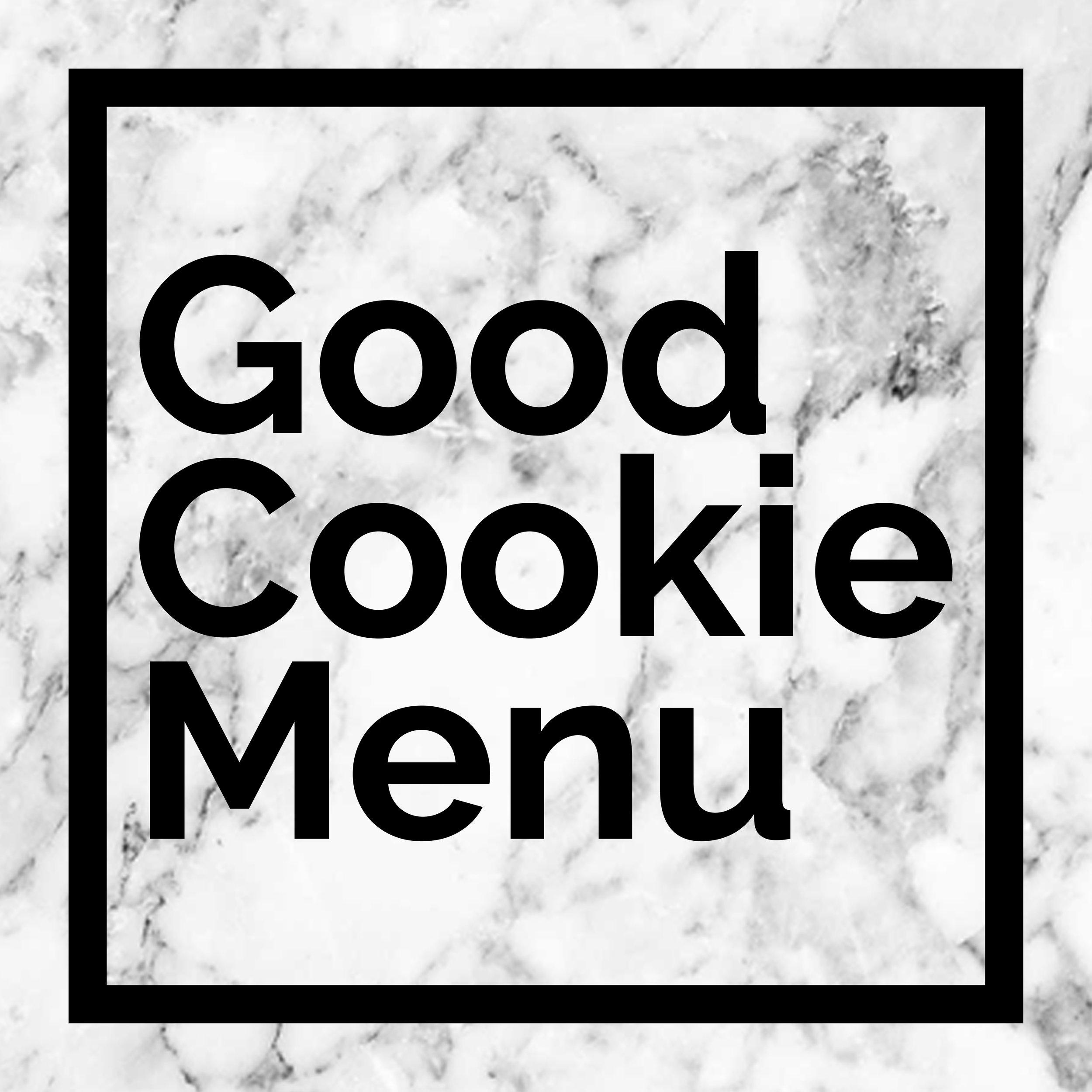 Good Cookie Company Cookie Menu Icon