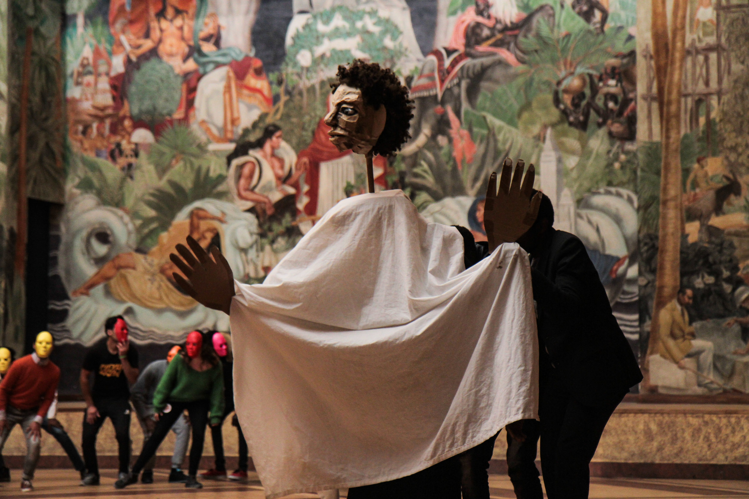 A scene from the Hope Show inside the Museum of Immigration in Paris. Photo by Good Chance Theatre .jpg