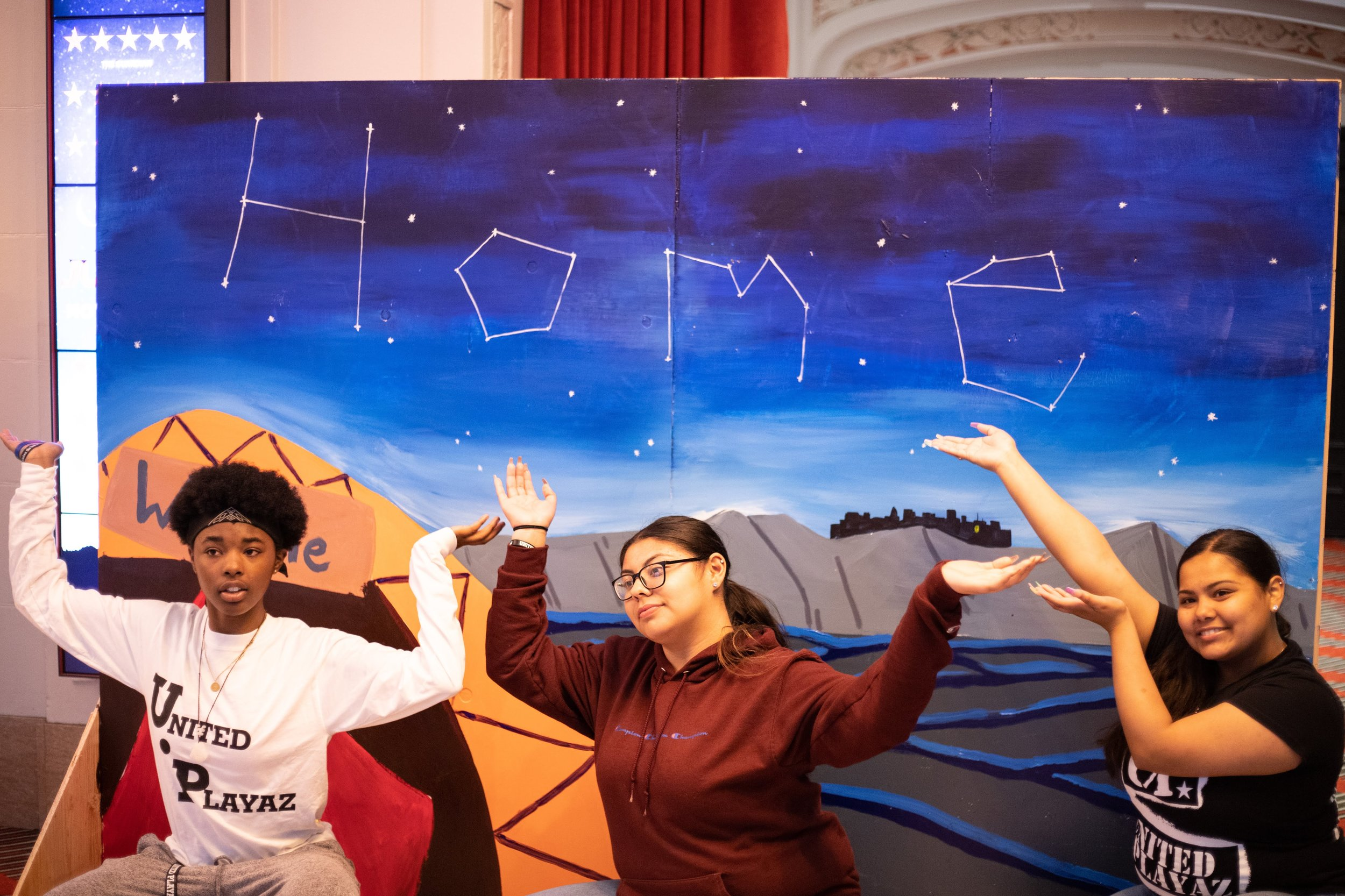 United Playaz with their mural at Curran Theatre ©Maddison October.jpg