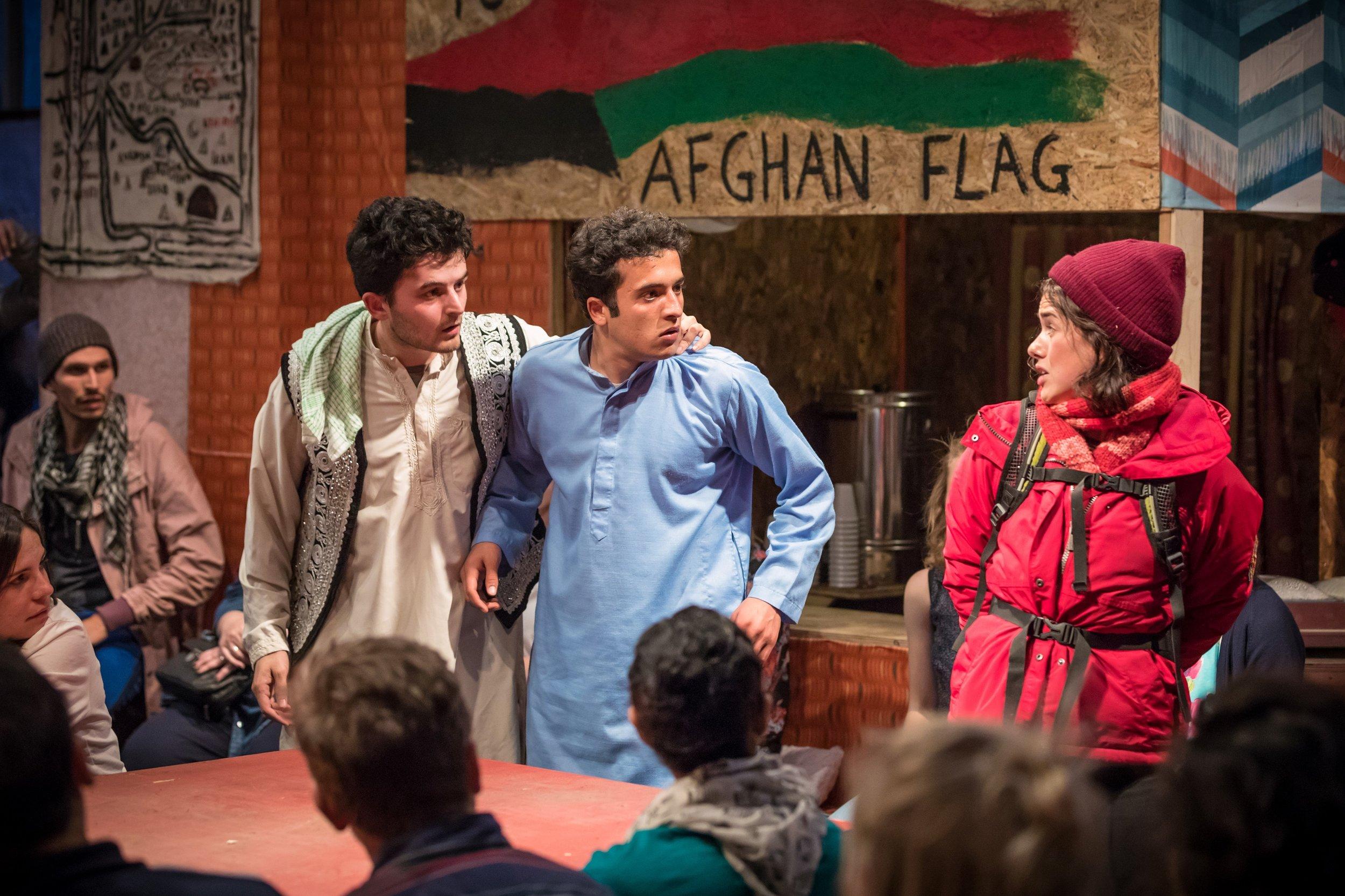 Elham-Ehsas-Maz-Mohammad-Amiri-Norullah-and-Rachel-Redford-Beth-in-The-Jungle-West-End.-Credit-Marc-Brenner.jpg