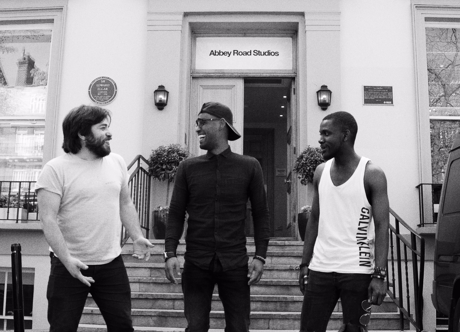 Mo John Ammar outside Abbey Road.jpg