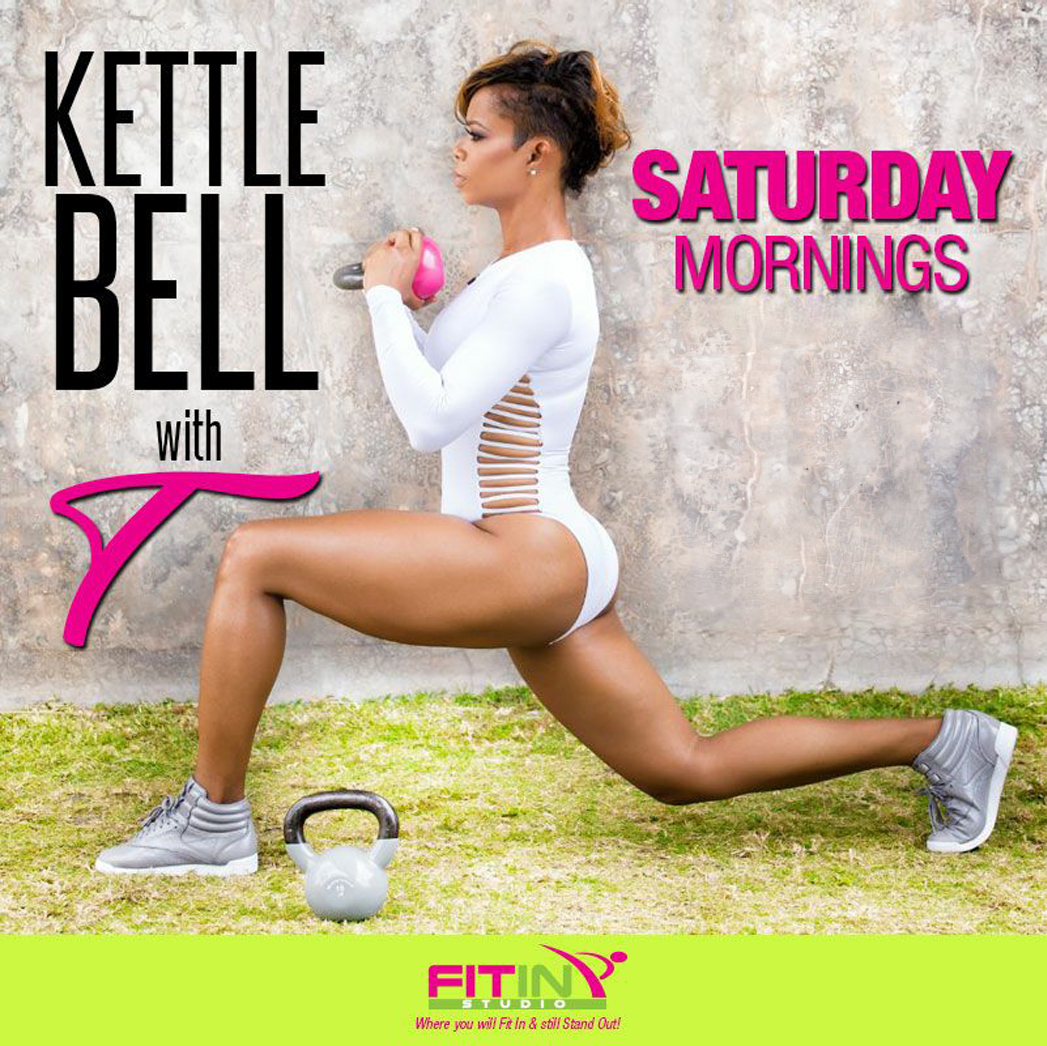Kettlebell with T