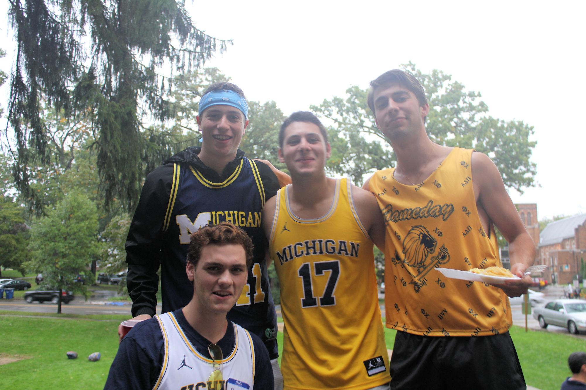(L to R) Top Row: Zach Piell ('21), Sam Jaffe ('21), Michael Uglietta ('21). Bottom Row: Ryan Borchardt ('21)