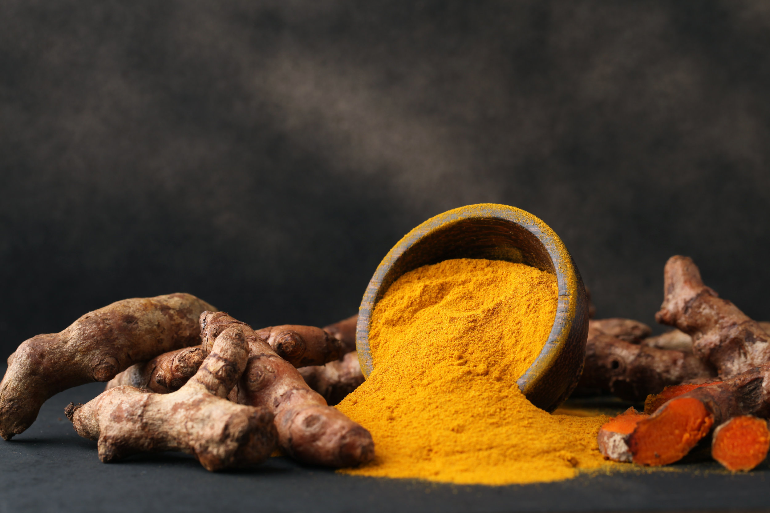 "Turmeric - Who wants Indian food? The primary polyphenol of turmeric is curcumin. It gives the spice, and your curry dish, that characteristic yellow color. But that's not all. ""Curcumin is known to possess potent anti-inflammatory and antiarthritic properties.""13This spice seems to reduce all types of inflammation. ""Research suggests that curcumin can help in the management of oxidative and inflammatory conditions, metabolic syndrome, arthritis, anxiety, and hyperlipidemia. It may also help in the management of exercise-induced inflammation and muscle soreness, thus enhancing recovery and subsequent performance in active people.""14Best of all, there's no side effects reported from using turmeric. ""Curcumin has been demonstrated to be safe in six human trials and has demonstrated anti-inflammatory activity. It may exert its anti-inflammatory activity by inhibition of a number of different molecules that play a role in inflammation.""15"