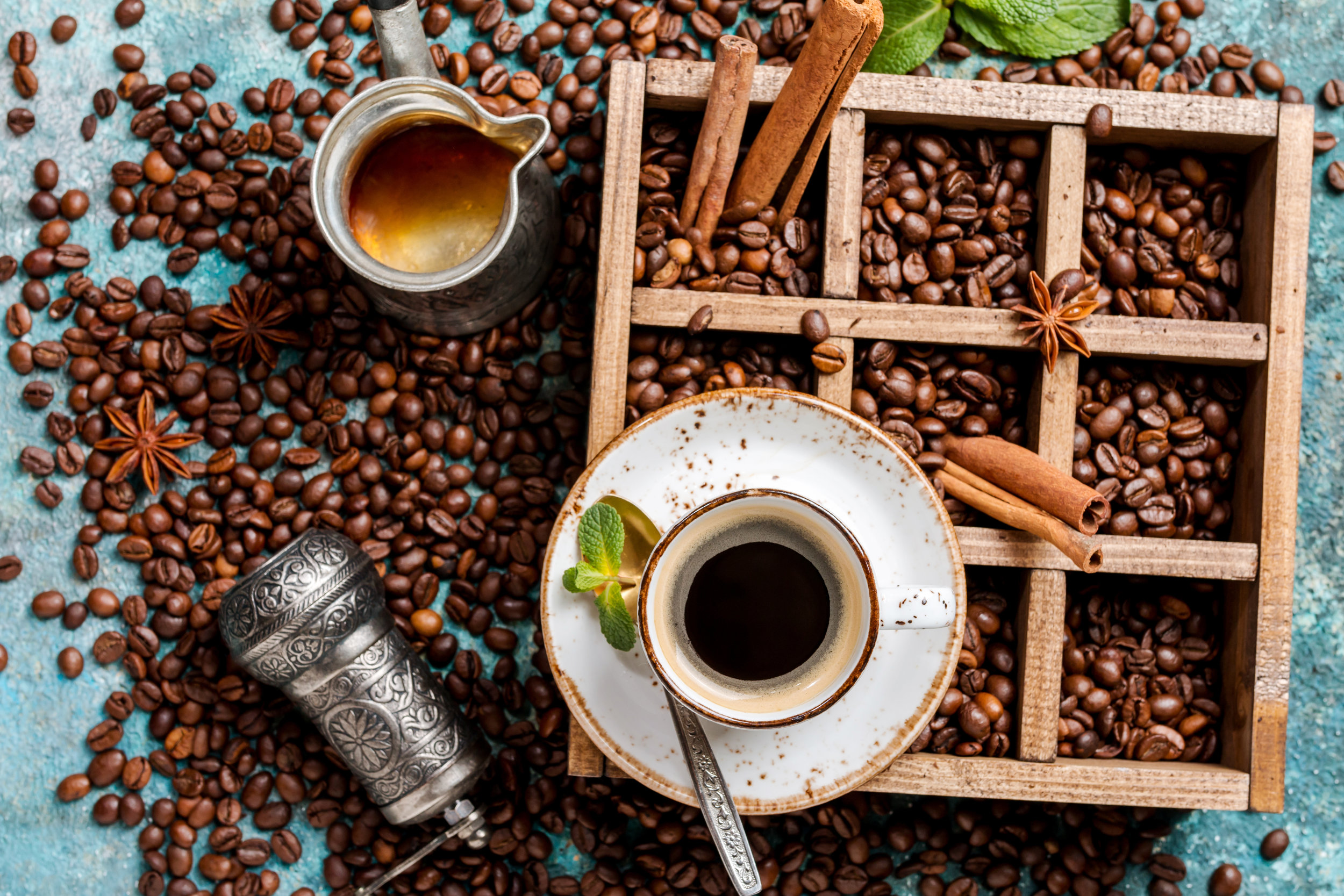 """Coffee also has anti-inflammatory properties and is protective against oxidative damage."" -"