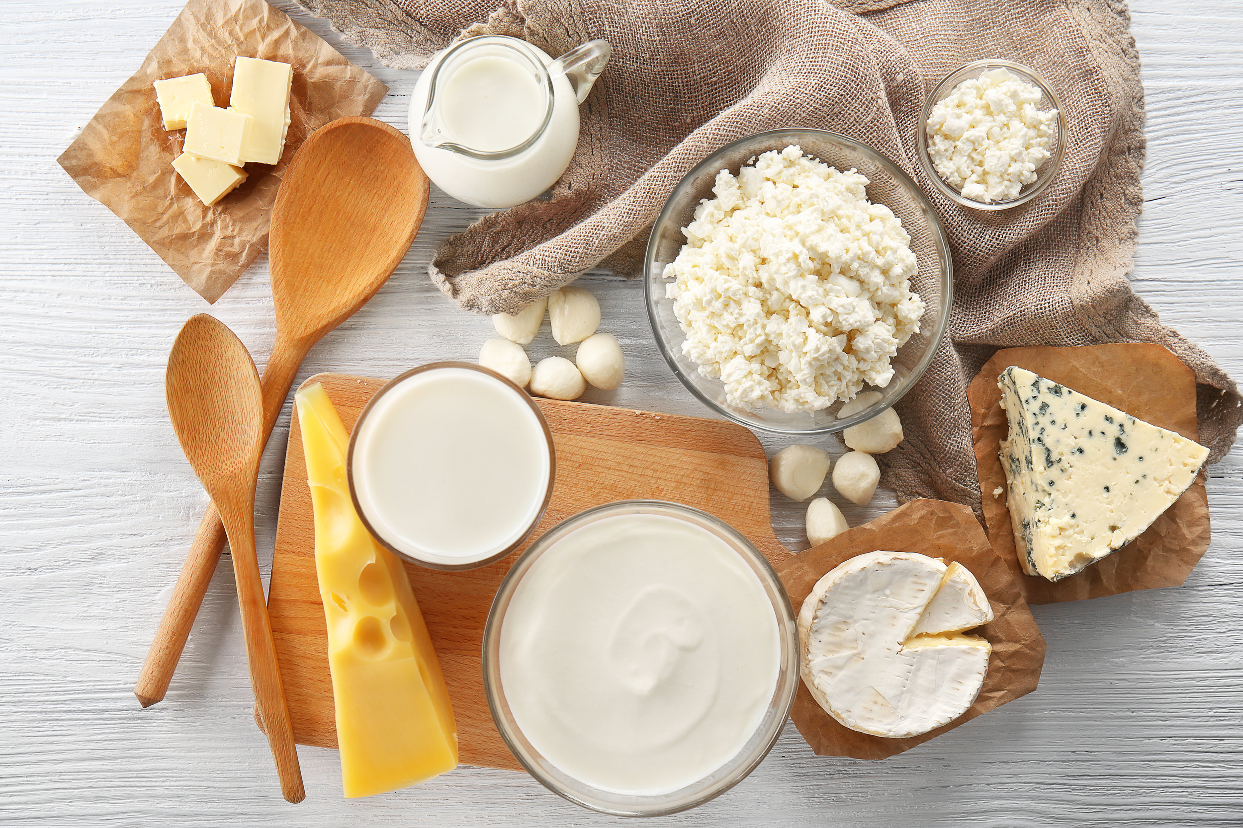 Do you experience sensitivities, allergies, bloating, skin problems, or other reactions from dairy consumption? -