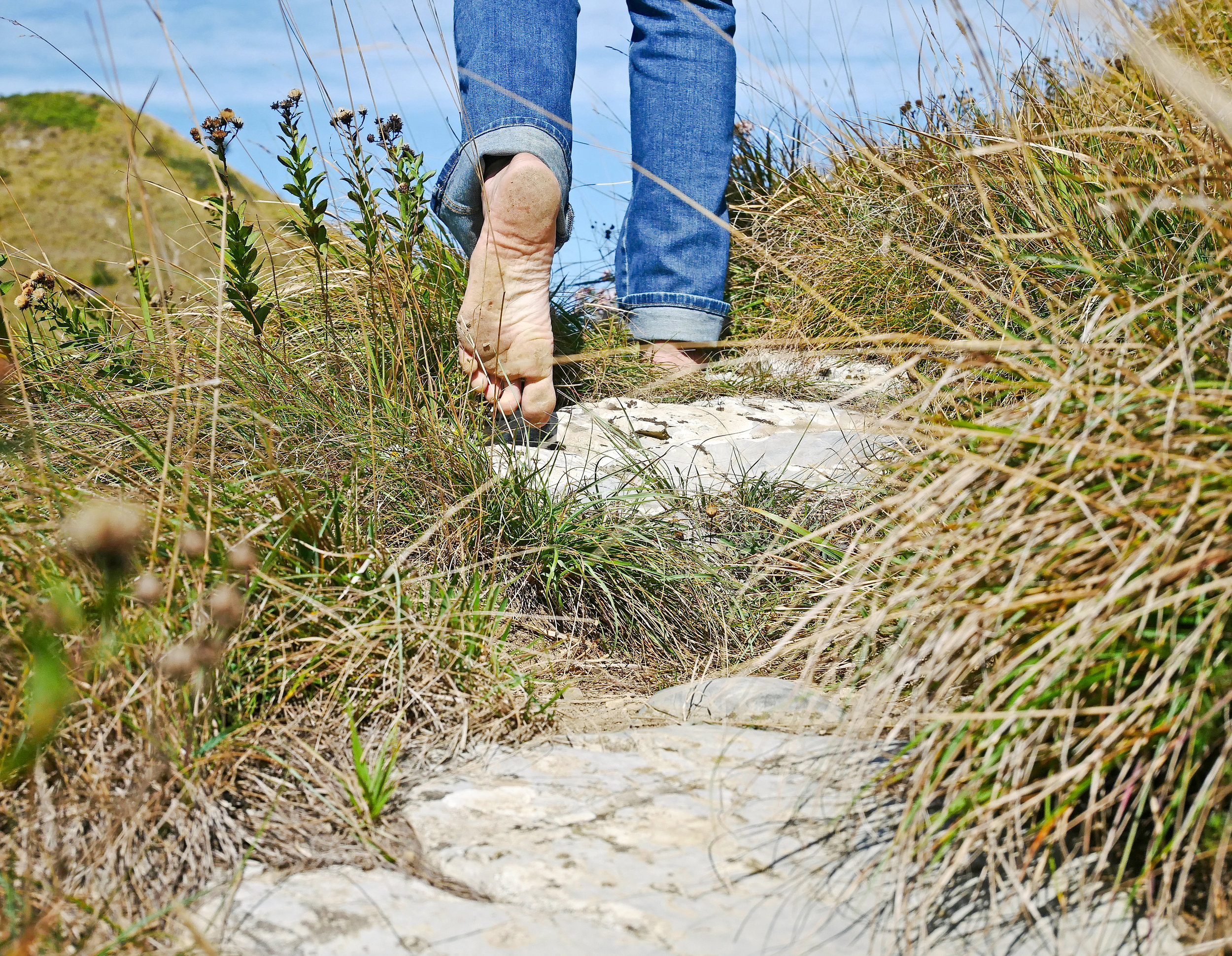 Have you tried grounding yet? -