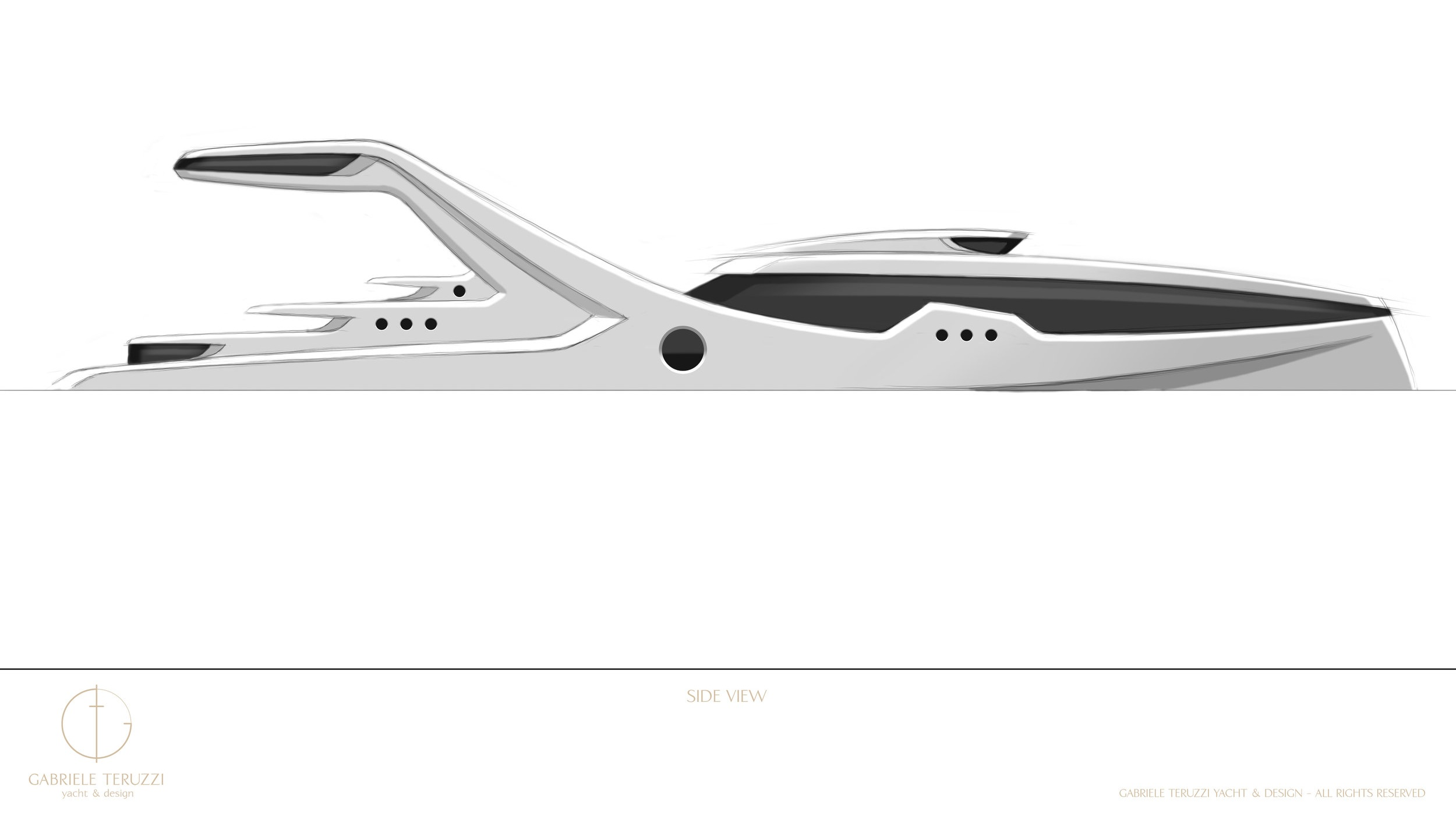 Projected chosen design of Oceanidi's NFS by Gabriele Teruzzi.