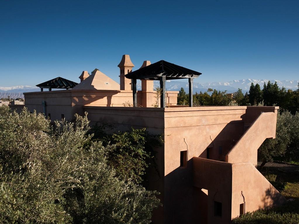 peacock pavilions, morocco -