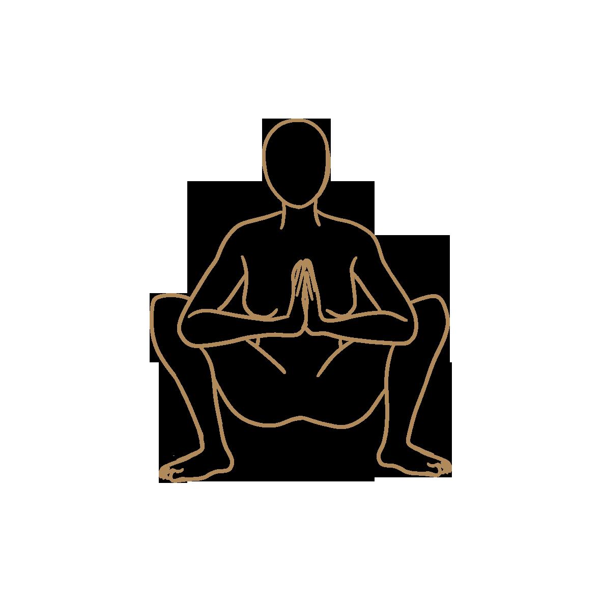 goddess squat…
