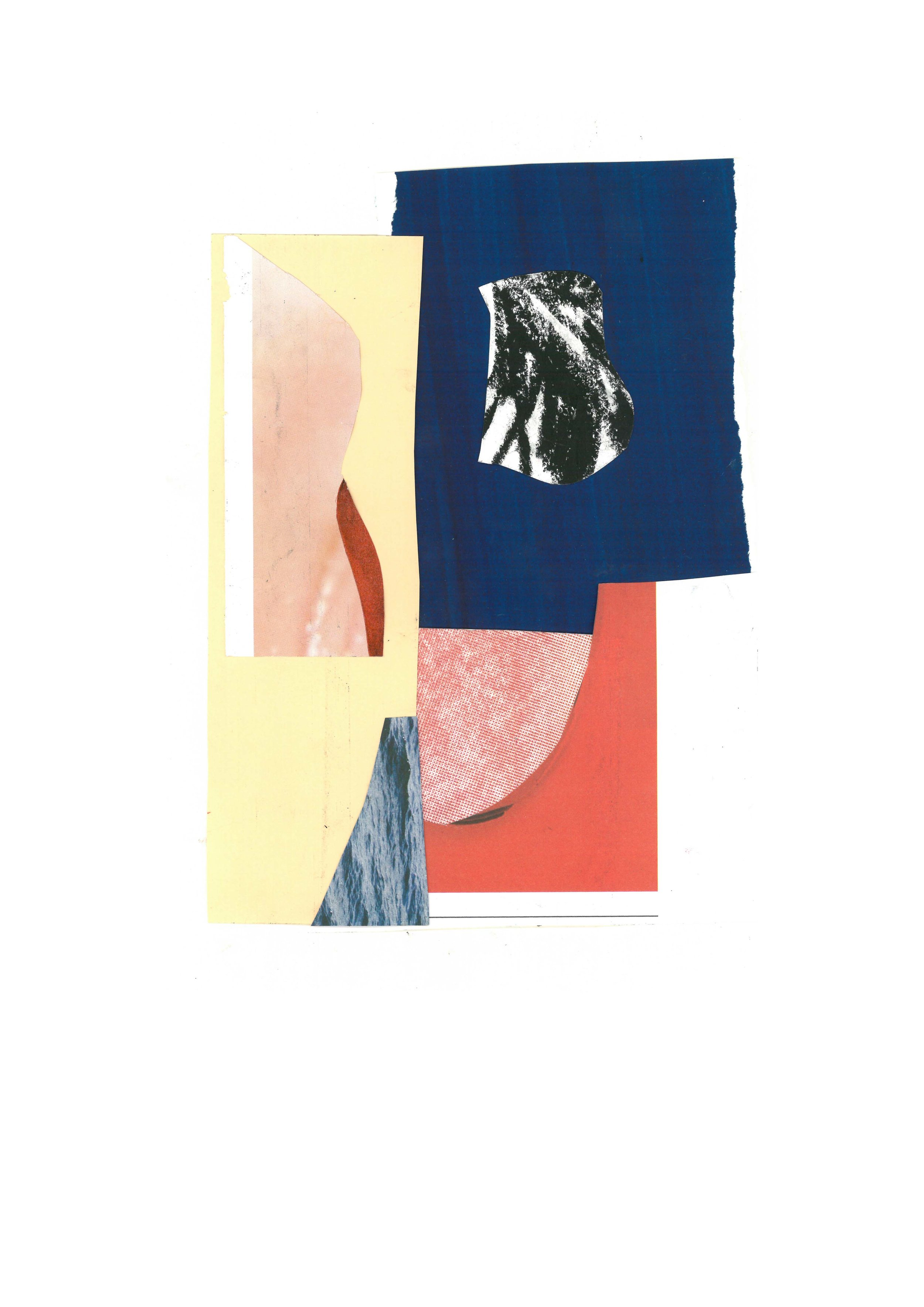 Series of collages made together with Catrin Karlberg