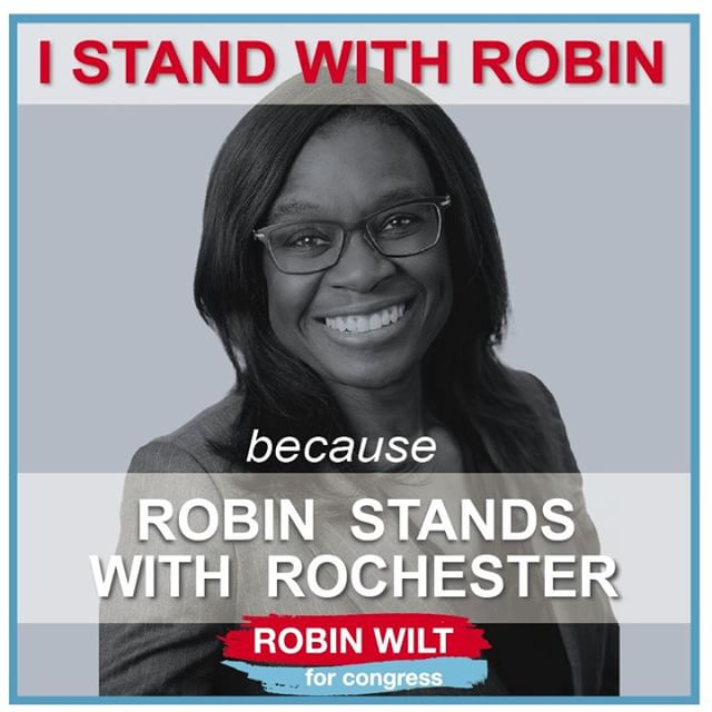 Rochester! VOTE for Robin Wilt TOMORROW June 26th! Robin stands with YOU and will represent the concerns of ALL of Monroe County  #Wiltforcongress #Robinwill #Ourmovement #voteJune26