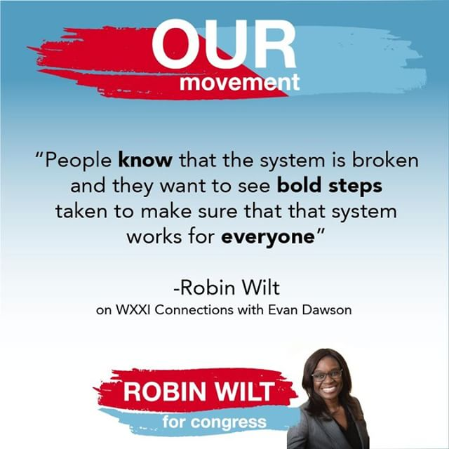 The boldest step you can take is to VOTE for Robin Wilt TOMORROW, June 26th! YOUR VOTE COUNTS!  #Wiltforcongress #Robinwill #Ourmovement #voteJune26