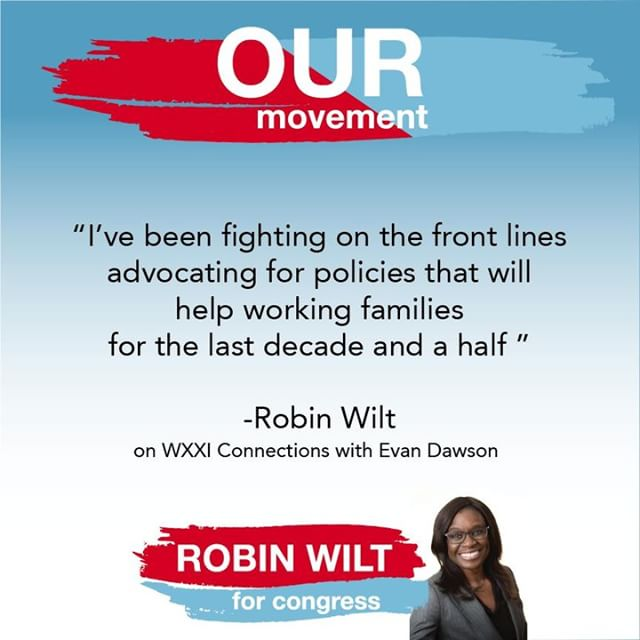 Robin stands with Rochester! VOTE for Robin TODAY June 26th!  #Wiltforcongress #Robinwill #Ourmovement #voteJune26