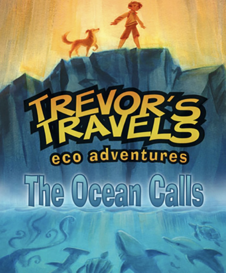 TREVOR'S TRAVELS - FRONT PAGE.
