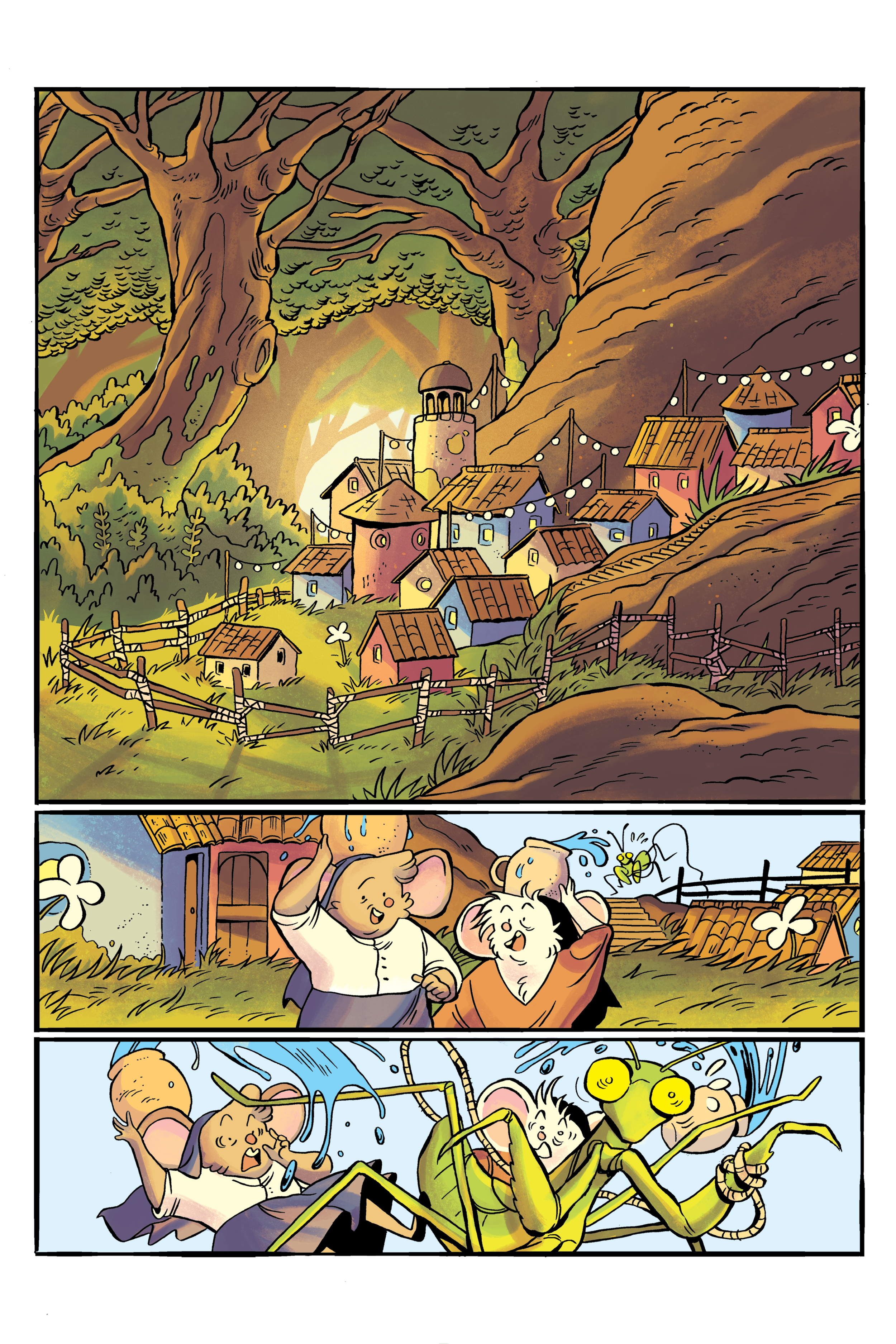 The Gilded Robe Page 1 (Winter 2018)