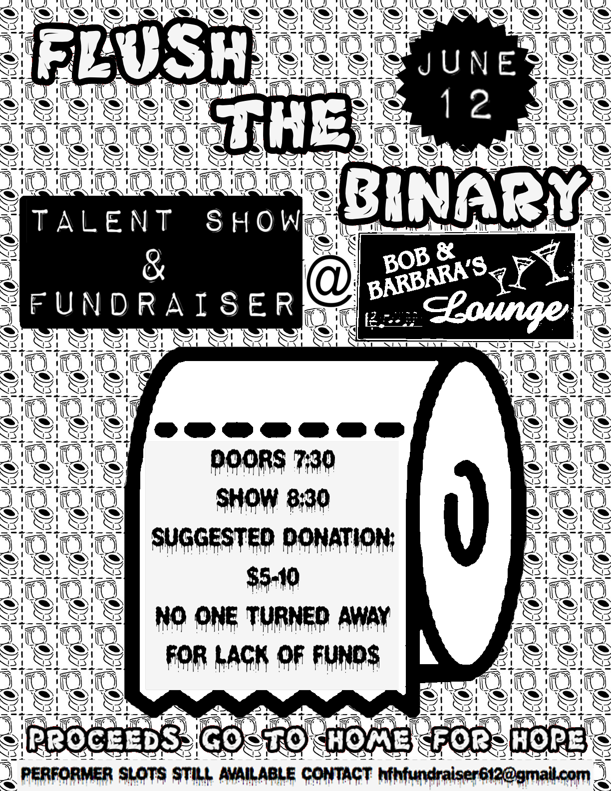 Flush The Binary flyer