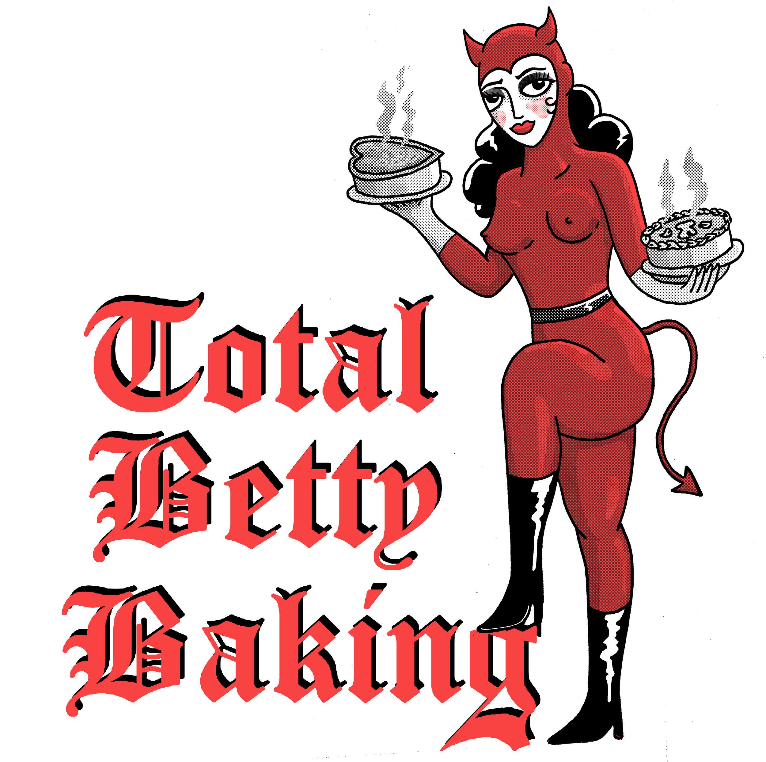 Logo for Total Betty Baking