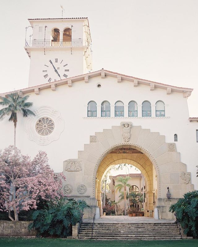 Looking forward to our next @santabarbaracourthouse elopement! #santabarbaracourthouse #santabarbarawedding #sbwedding #santabarbaraelopement