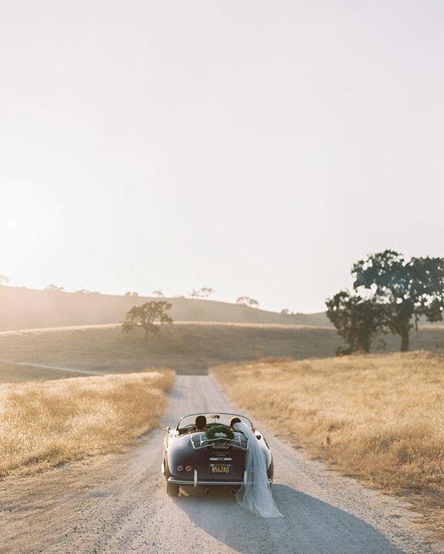 Motoring at @kestrelpark with @jenhuangphoto @davia_lee @camelliafloraldesign @fieldtotableevents #kestrelparkwedding