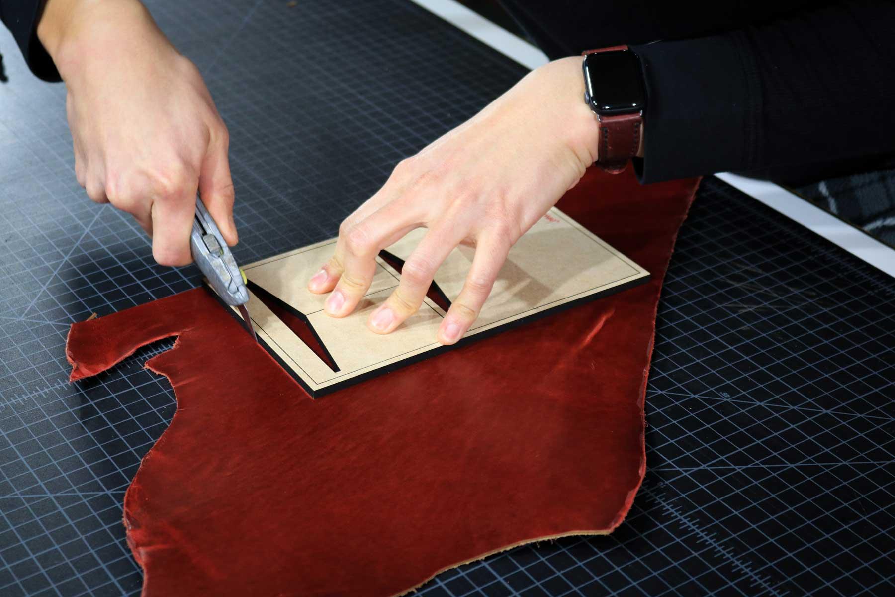 Cutting inner pocket