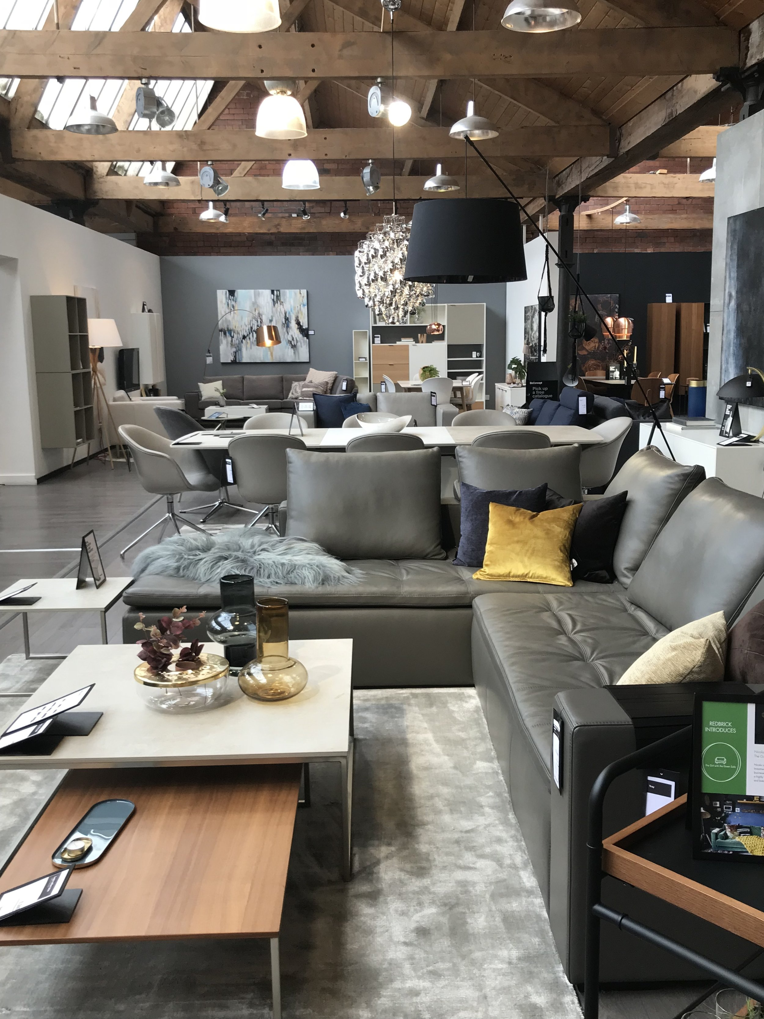 BoConcept are Denmark's iconic furniture brand - find them on the Ground Floor