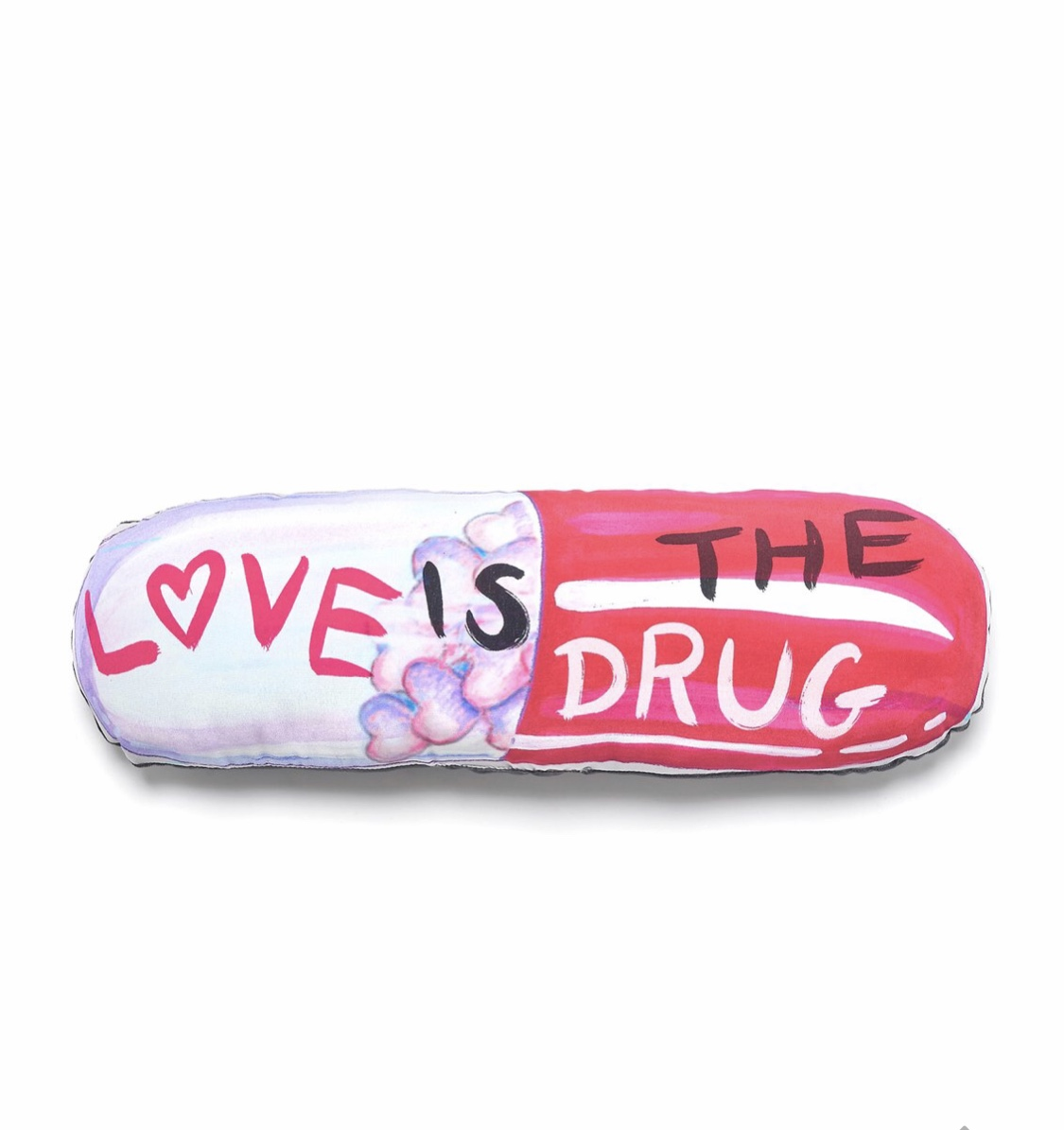 Love is the Drug cushion @ageofreasonstudios