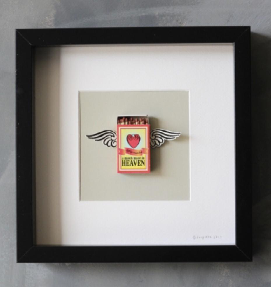 A Match Made In Heaven art by artist Bridgett Herrod for @rockettstgeorge.co.uk