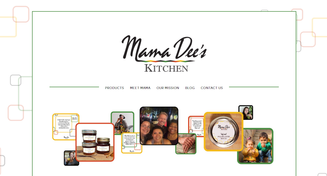 Mama dee website screen shot.jpg