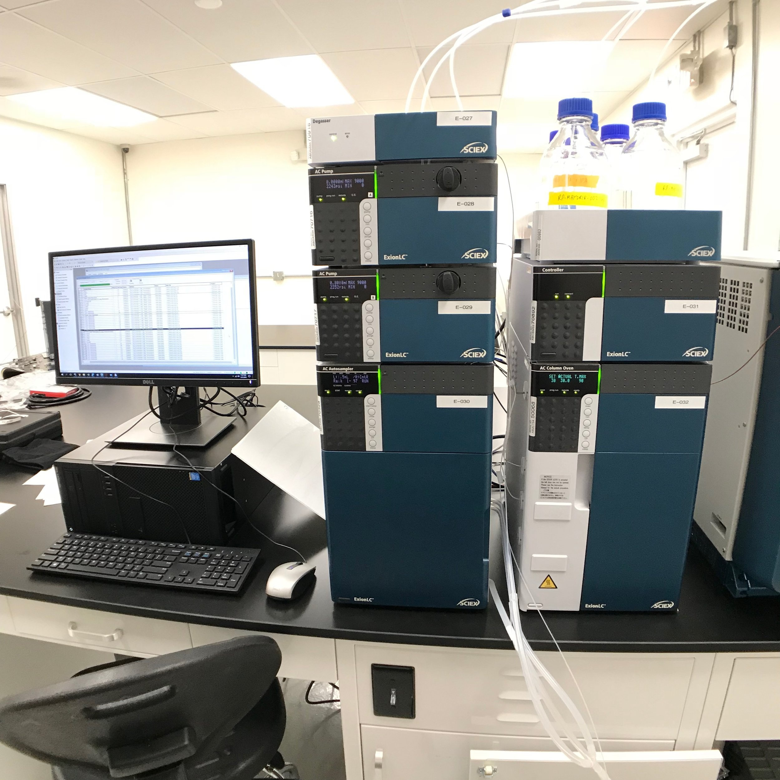 Lab Testing at  Belcosta Labs , Long Beach, CA.
