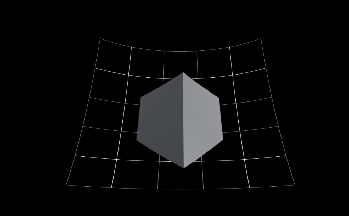 Curved image using Shaders (GLSL + C#) in Unity 3D