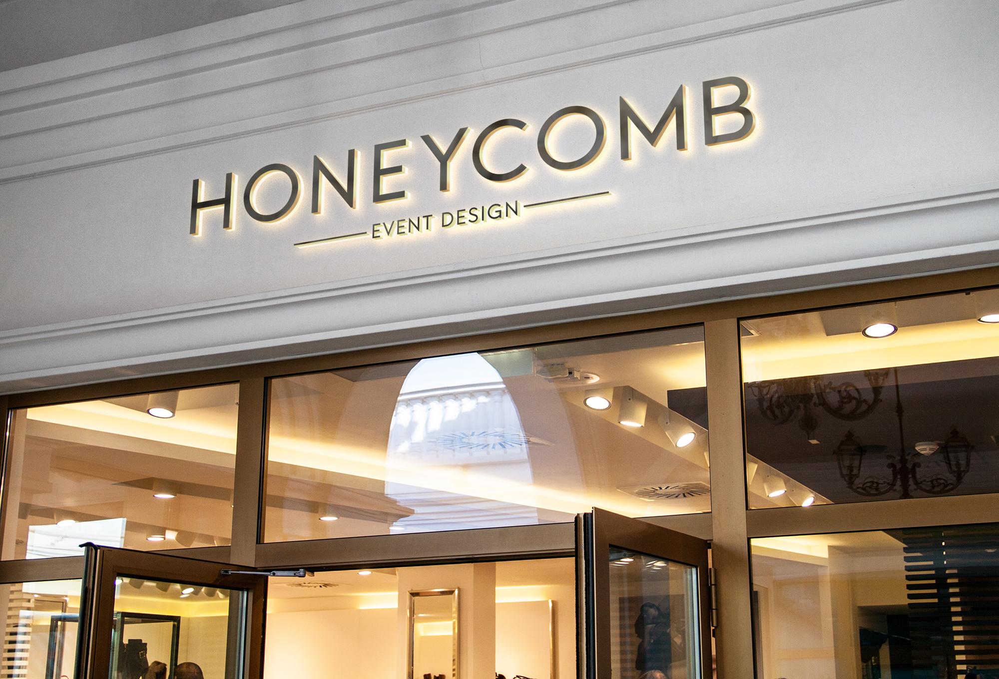Graphic Design Branding Honeycomb Event Design Marketing