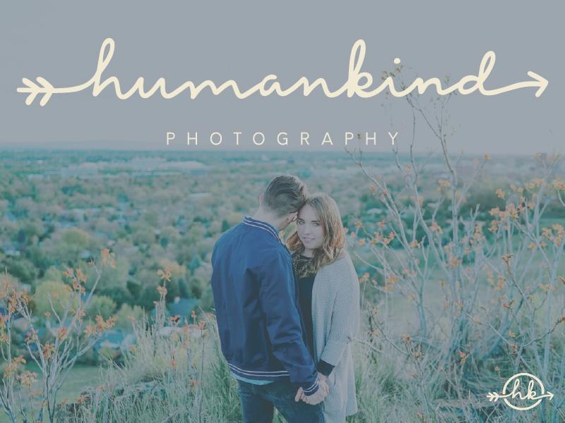 Humankind Photography Brand Branding Logo Design
