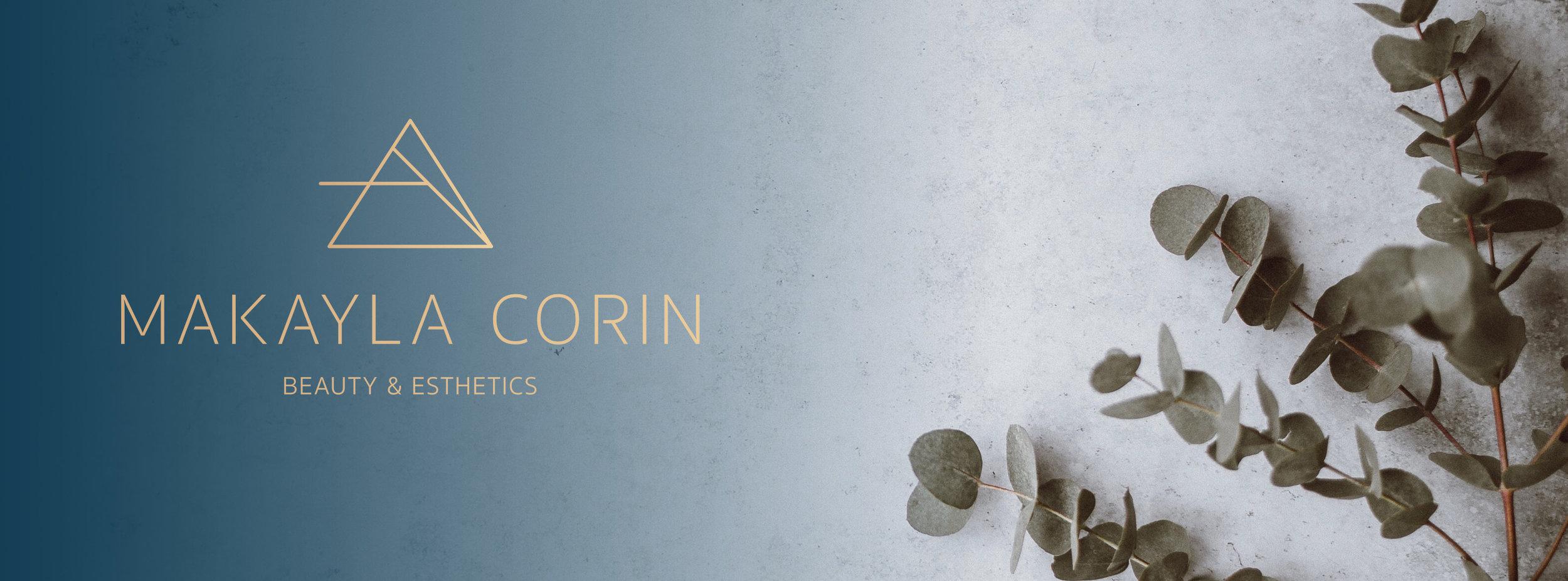 Makayla Corin Brand Branding Logo Design Graphic Design