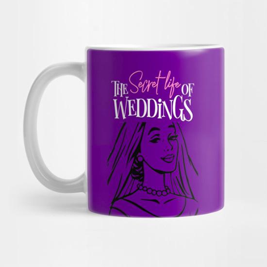Pop Art Bride - MUG - Mugs available in both regular & travel styles.