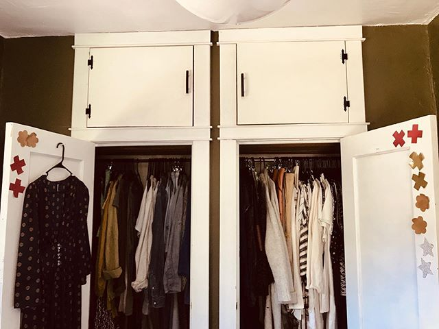 Where do you keep your #pasteaseeveryday ?? . Mine tend to live on my closet doors ready to match with my outfits daily. Here is my colocation from over the past year. - Maddie #cantgetenoughofthem #wearthemout #everyday #lifestyle #reusable #nipplecovers #accessories