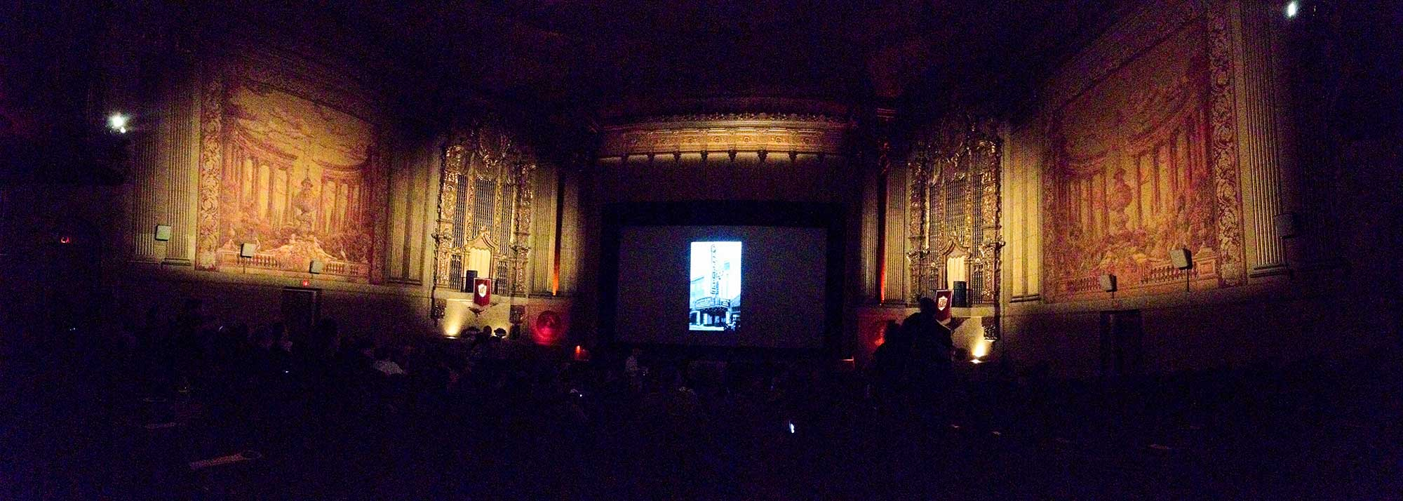 Interior of the Castro Theatre
