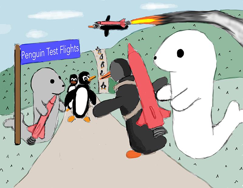 Fulfilling penguin dreams...