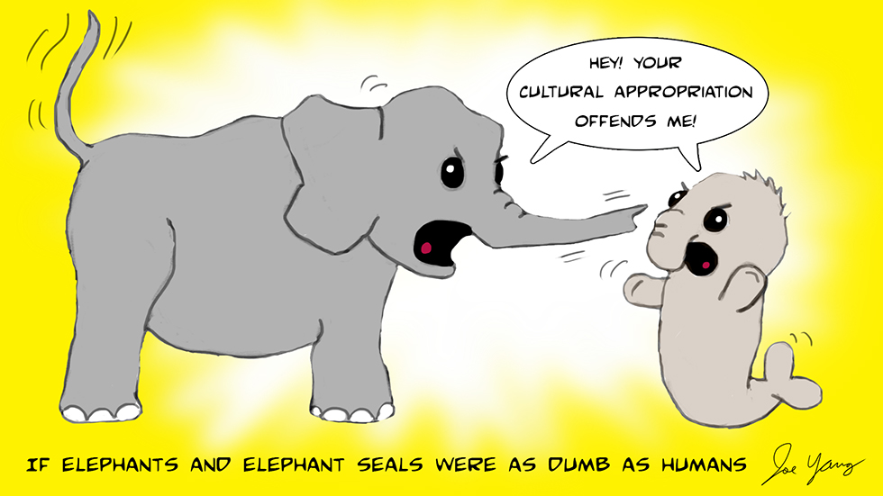 If elephants and elephant seals were as dumb as humans