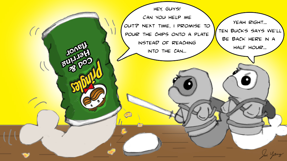 The Ninja Seals deal with a familiar problem