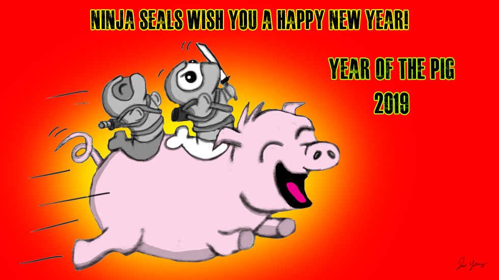 Ninja Seals wish you a Happy Chinese New Year!