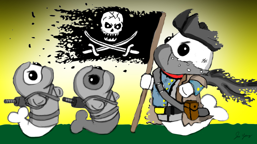 The Ninja Seals meet a mysterious pirate!