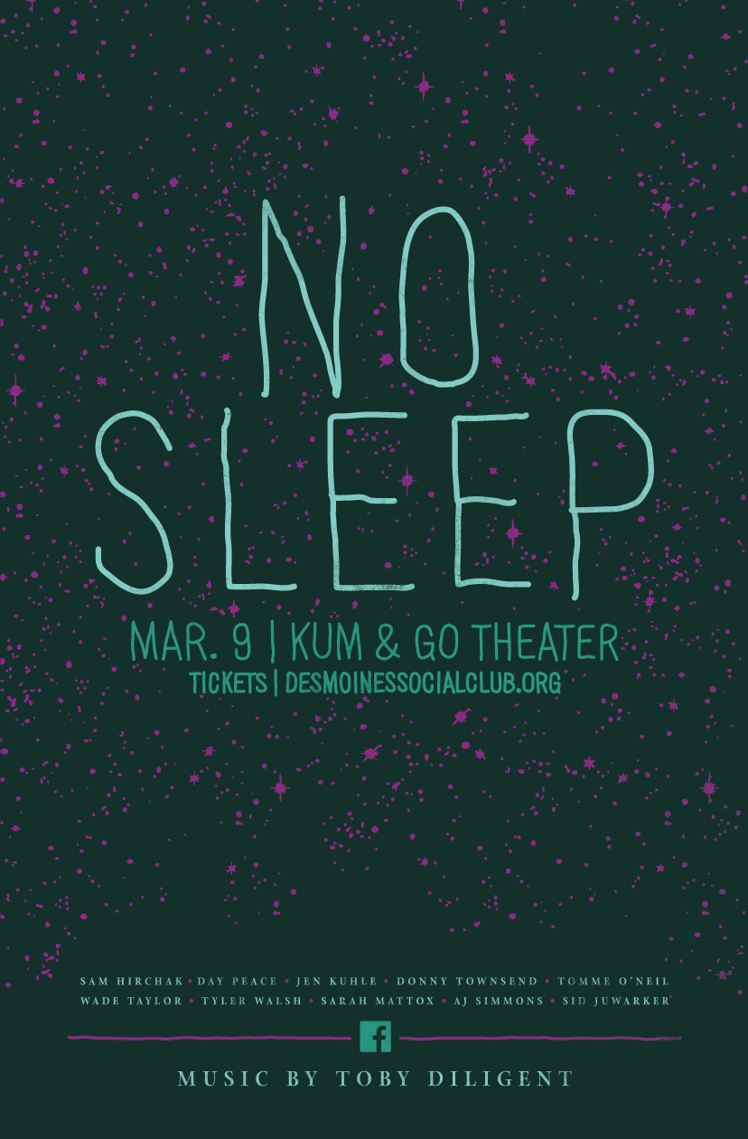 NO SLEEP_6_Poster