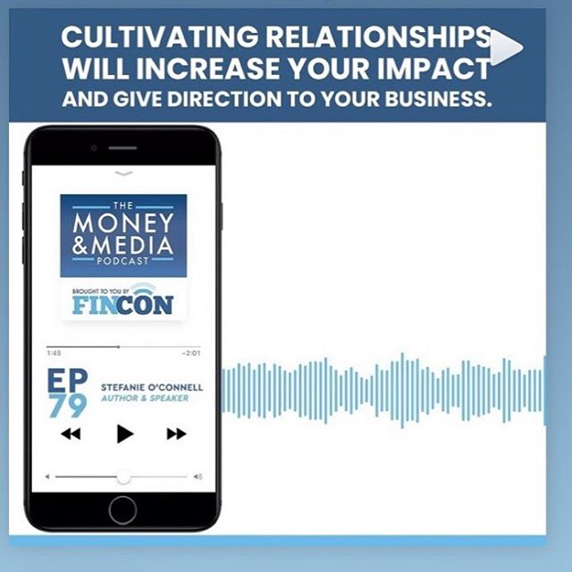 Excited to be talking about @statement_event & the community of game changers and decision makers we're working to bring together to achieve maximum impact in episode 79 of the Money & Media podcast from @finconexpo  As host @bethanybayless points out, 'It's all about the relationships.' (Check our the link in bio to hear the full episode (also featuring Ramit Sethi))! #statementevent #communityovercompetition #community