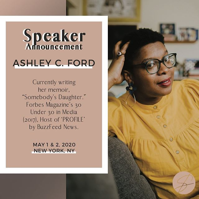 SPEAKER ANNOUNCEMENT! The brilliant Ashley C. Ford @smashfizzle will be joining us for @statement_event 2020.⠀ ⠀ Ashley C. Ford lives in Brooklyn by way of Indiana. She is a writer, podcaster and educator, currently writing her memoir, 'Somebody's Daughter', which will be published by Flatiron Books under the imprint An Oprah Book. Ford also hosts PROFILE by BuzzFeed News, and is the former host of Brooklyn-based news & culture TV show (and podcast!), 112BK.⠀ ⠀ ⠀ Ford has written or guest-edited for The Guardian, ELLE, BuzzFeed, Slate, Teen Vogue, New York Magazine, Lenny Letter, INTO and various other web and print publications.⠀ ⠀ She's taught creative nonfiction writing at The New School and Catapult.Co, and also had her work listed among Longform & Longread's Best of 2017. She also contributed to CupOfJo.Com & hosted Fortune Favors The Bold, a collaboration between Gimlet Creative and MasterCard.⠀ ⠀ She has been named among Forbes Magazine's 30 Under 30 in Media (2017), Brooklyn Magazine's Brooklyn 100 (2016), and Time Out New York's New Yorkers of The Year (2017). You can follow Ashley on twitter @ismashfizzle and on instagram @smashfizzle⠀ ⠀ Some reading/listening from and about Ashley that we love... ⠀ 'The Truth About Money', Ashley writes about her complicated relationship with money growing up for @thehelmco (https://www.thehelm.co/the-truth-about-money/)⠀ ⠀ 'How One Tweet Helped Pay Student Lunch Debts Across the US', Ashley talks about her tweet that led to thousands of dollars in donations with @Glamour (https://www.glamour.com/story/how-one-womans-tweet-helped-pay-student-lunch-debts-across-the-us)⠀ ⠀ 'A Little... Money', Listen in as Ashley gets real about money struggles and maintaining your self-respect while you're on your grind with the 'A Little Forward' podcast. (https://www.stitcher.com/podcast/pineapple-street-media/a-little-forward/e/62418895)⠀ ⠀ ⠀ We're looking forward to learning from Ashley (and more) at Statement 2020, May 1st in NYC. ⠀ ⠀