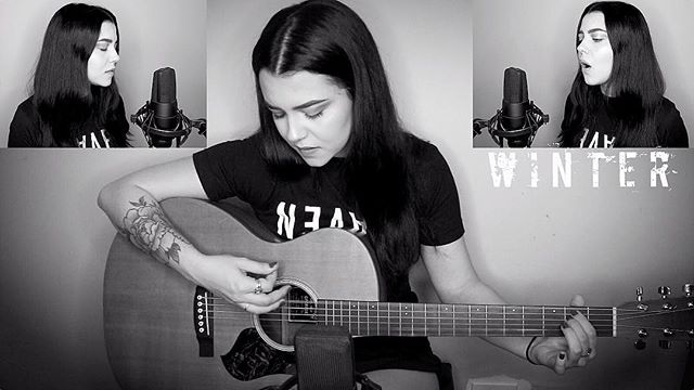 My new #pvris cover is up 🖤 link in bio